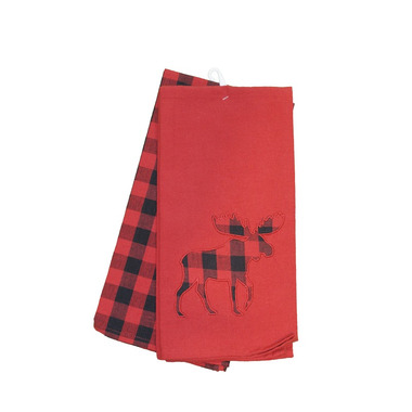 Domay Buffalo Check Moose Towel Set