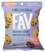 Organika FAV Keto Mini Cookies Chocolate Chip