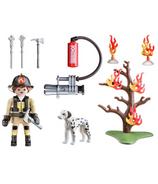 Playmobil Fire Rescue valisette de transport