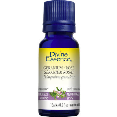 Divine Essence Geranium Rose Essential Oil