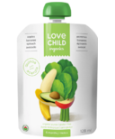Love Child Organics Super Blends Apples, Bananas, Spinach, Avocado