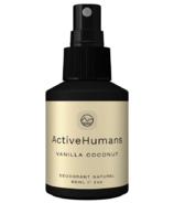Déodorant en spray Active Humans Vanilla Coconut