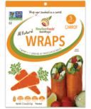NewGem Foods GemWraps All Natural Wraps Carrot