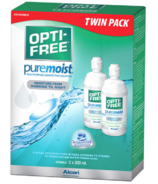 Opti-Free Puremoist Evermoist Solution Twin Pack