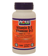 NOW Foods Vitamin D-3 1000 UI