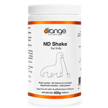 Orange Naturals ND Shake Kids Vanilla