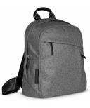 UPPAbaby Changing Backpack Jordan Charcoal Melange & Black Leather