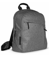 UPPAbaby Changing Backpack Jordan Charcoal Melange & Black Leather