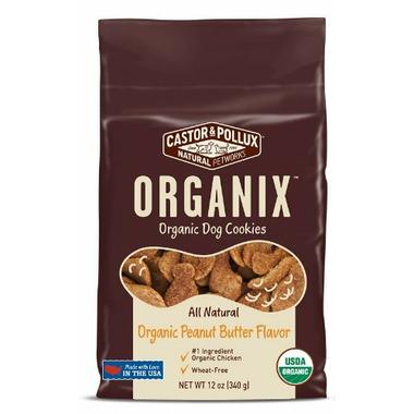 Castor & Pollux Organix Organic Dog Cookies