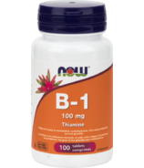NOW Foods Vitamin B-1 100 mg