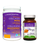 New Chapter Made to Move Bundle with Collagen & Turmeric Force