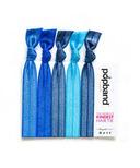 Popbands Denim Hair Ties