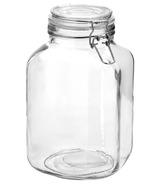 Anchor Hocking Hermes Jar Clamp Top Lid