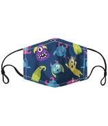 Harman Kid's Face Mask Monsters Print