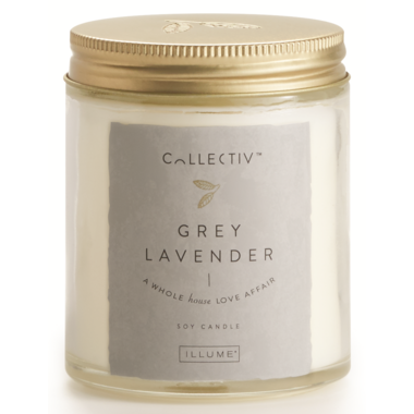 Illume Grey Lavender Julia Jar Candle