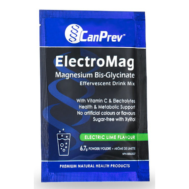 CanPrev ElectroMag Magnesium Bis-Glycinate Effervescent Drink Sample