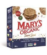 Mary's Organic Crackers Classic Super Seed Crackers