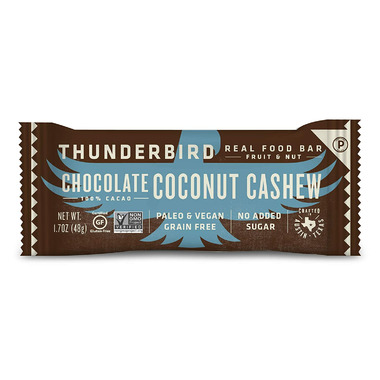 Thunderbird Real Food Bars Chocolate Coconut Cashew