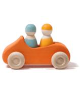 Grimm's Large Orange Convertible Car