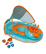 SwimWays Baby Spring Float Activity Center with Canopy Lobster
