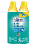Coppertone Kids Clear Continuous Sunscreen Spray SPF 50 Duo Pack