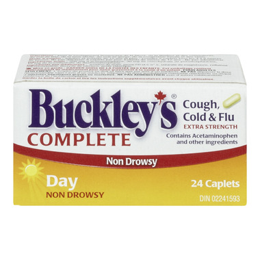 Buckley\'s Complete Extra Strength Day Caplets