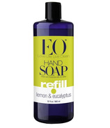 EO Products Lemon & Eucalyptus Hand Soap Refill