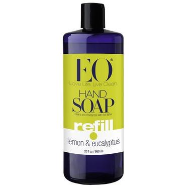 EO Products Lemon & Eucalyptus Hand Soap Refill