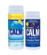 Natural Calm Magnesium Sweet Lemon + Wildberry Bundle