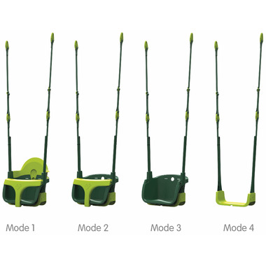 TP Toys Quadpod Adjustable 4-in-1 Swing Seat