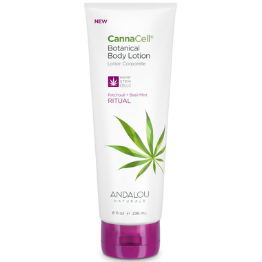 ANDALOU naturals CannaCell Botanical Body Lotion Ritual