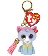 Ty Mini Boo attaches avec heather le chat