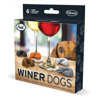 Fred and Friends Winer Dogs Drink Markers