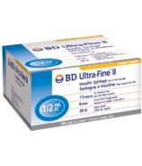 BD Ultra-Fine 0.5ML 30G 8MM Syringe 5/16 Inch
