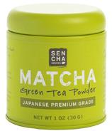 Sencha Naturals Matcha Powder Premium Grade