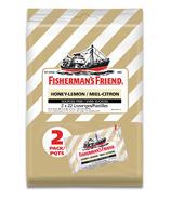 Fisherman's Friend Sugar Free Honey Lemon Lozenges 2 Pack