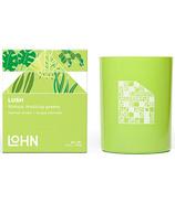 LOHN LUSH Candle Galbanum & Plum