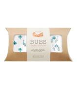 Nest Designs Bamboo Bubs Baby Wash Cloth Set Peacock