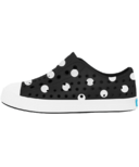 Native Jefferson Youth Jiffy Black Shell White & Polka Dots
