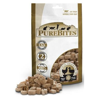 PureBites Freeze Dried Chicken Breast & Duck Liver Cat Treats