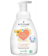 ATTITUDE Baby Leaves 2-in-1 Foaming Wash Pear Nectar