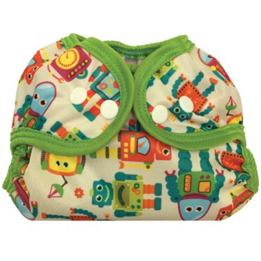 Bummis Simply Lite Diaper Cover Vintage Robot