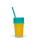 Luumi Unplastic Lid and Straw - Teal
