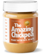 The Amazing Chickpea Spread Crunchy Peanut Butter