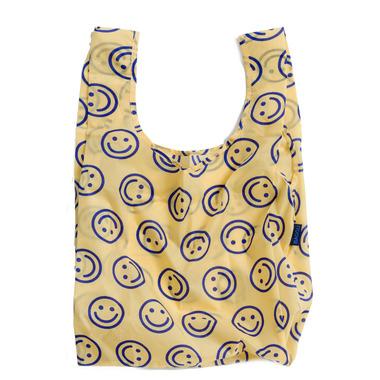 Baggu Standard Baggu Reusable Bag in Goldenrod Happy