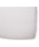 Petit Pehr Stripes Away Crib Sheet Petal