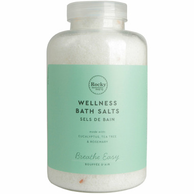 Rocky Mountain Soap Co. Aromatherapy Breathe Easy Salts