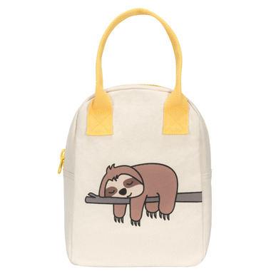 Fluf Zippered Lunch Sloth - Well.ca Exclusive