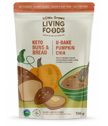 hOMe Grown Living Keto U-Bake Buns & Bread Mix Pumpkin Chia