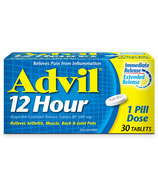 Advil 12 Hour Extended Release Tablets